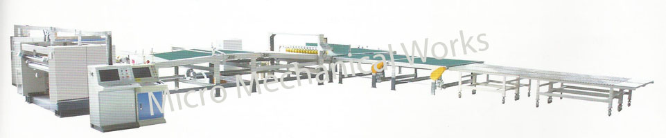 automatic up stacking machine
