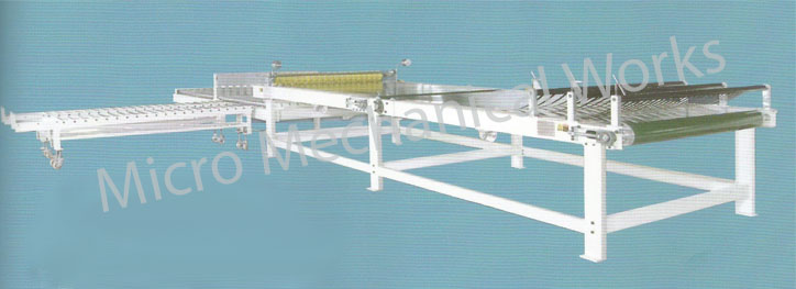paper sheet delivery and sage conveyor